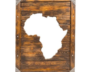 Africa Mirror African Collectables