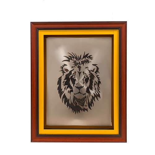 Lion Portrait African Collectables