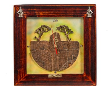 Great Zimbabwe Artwork Clock African Collectables