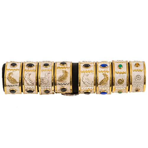 Gold and Silver Bracelets African Collectables