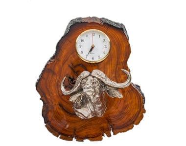 Buffalo Clock African Collectables