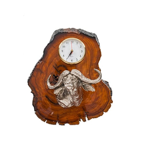 Buffalo Clock African Collectables