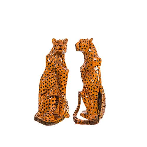Pair of cheetahs African Collectables