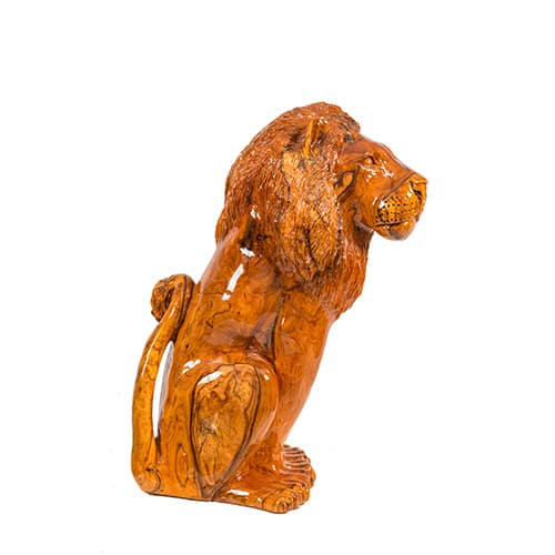 Lion Carving African Collectables 2