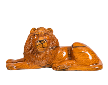 Lion Lounging African Collectables