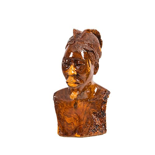Serious Look Male Bust African Collectables
