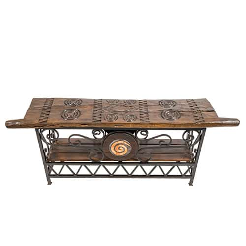 Tonga Door Table with Ndoro Pattern African Collectables