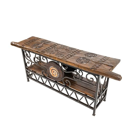 Tonga Door Table Side Angle African Collectables