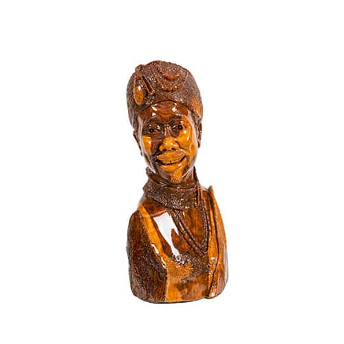 Smiling Woman African Collectables