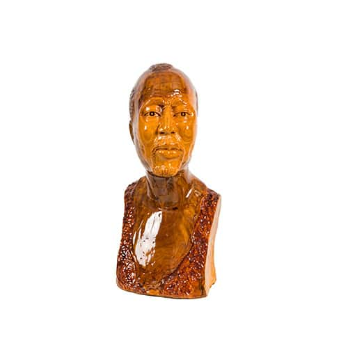 Natural Male Bust African Collectables