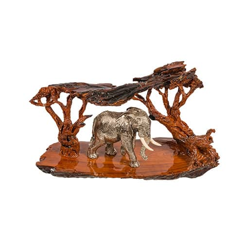 Elephant Roaming African Collectables