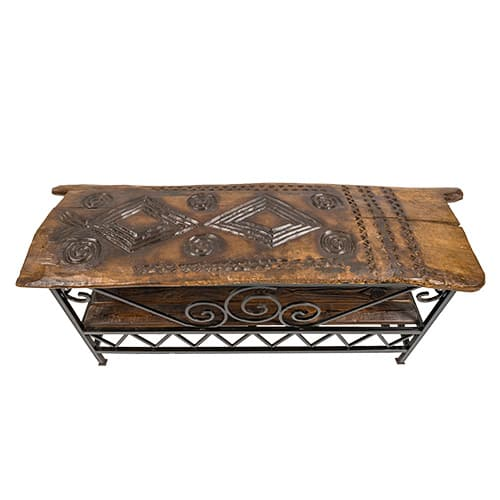 Tonga Door Table Top View African Collectables