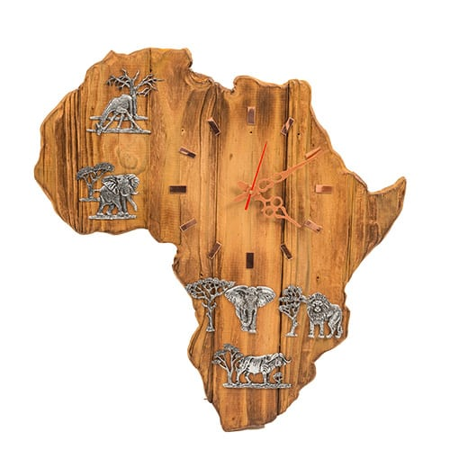 Africa Clock African Collectables