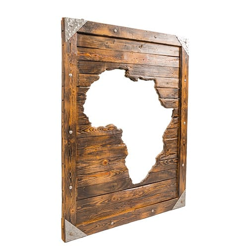Africa Mirror Side African Collectables