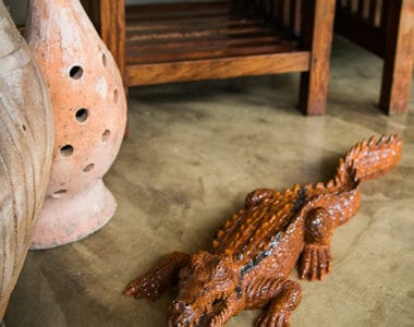 Crocodile Carving African Colectables
