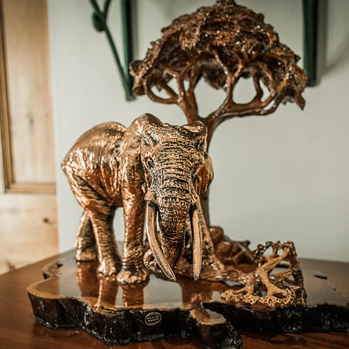 Elephant Walking African Collectables