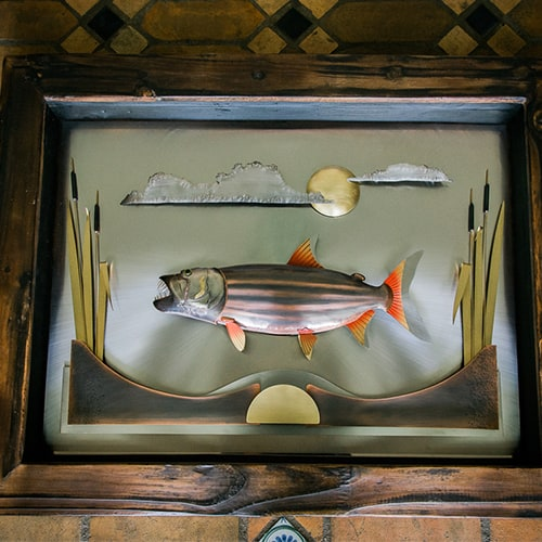 Fish Display Table African Collectables